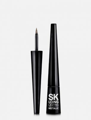 Delíneador Líquido Metalic Silk Kiss Long Lasting