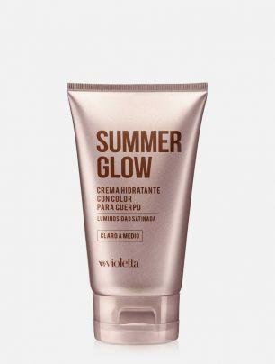 Crema Hidratante con Color Summer Glow