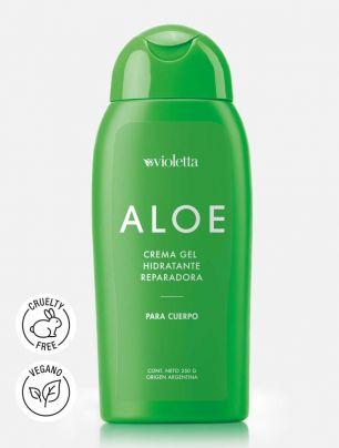 Crema Gel Hidratante Reparadora para Cuerpo Aloe Vera