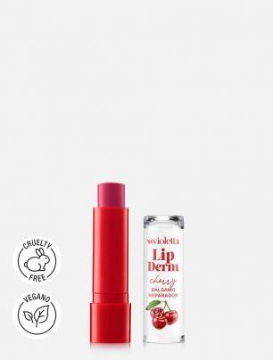 Bálsamo Reparador para Labios Lip Derm Cherry