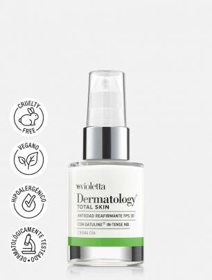Crema de día Antiedad Reafirmante FPS 30 Dermatology Total Skin
