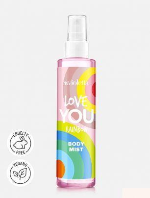 Body Mist Love You Rainbow