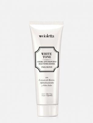 Crema Antimanchas Rejuvenecedora para manos White Tone