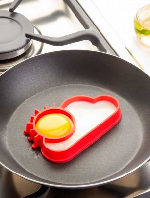 Molde para huevo Silicona Sol Star Cuisine