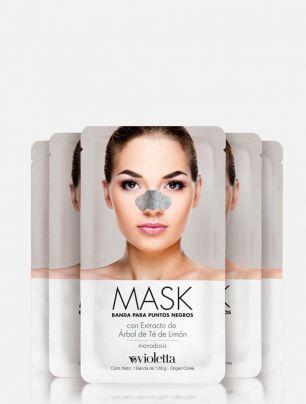 Set x 5 Bandas para Puntos Negros Mask