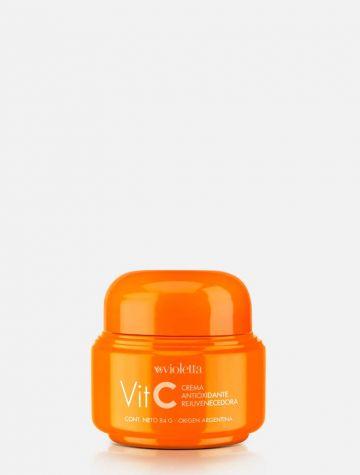 Crema de Vitamina C Antioxidante y Rejuvenecedora