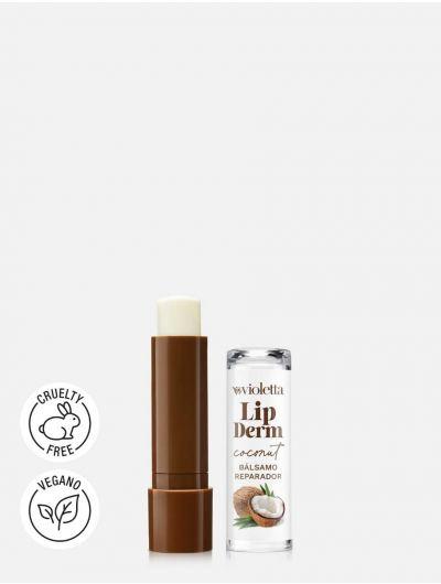 Bálsamo Reparador para Labios Lip Derm Coconut