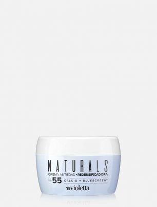 Crema Antiedad Redensificadora Naturals +55