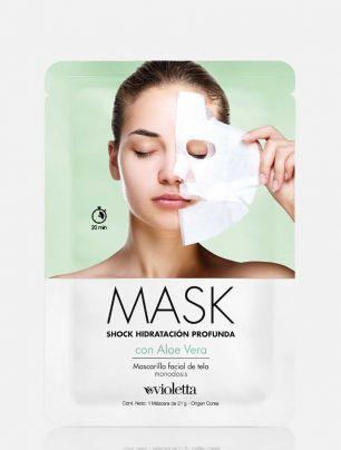 Mascarilla Shock de Hidratación Profunda con Aloe Vera Mask