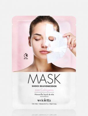 Mascarilla Shock Rejuvenecedor con Colágeno Mask
