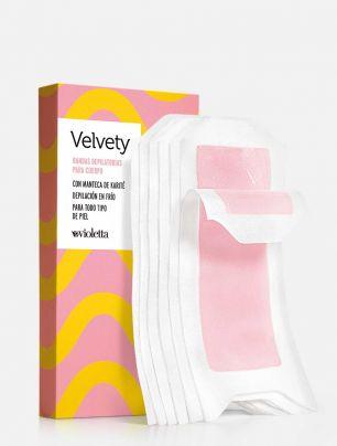 Bandas Depilatorias para el Cuerpo Velvety