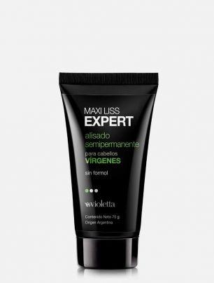 Alisado semipermanente para cabellos vírgenes Maxi Liss Expert