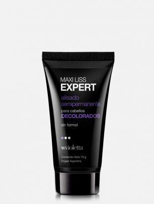 Alisado semipermanente para cabellos decolorados Maxi Liss Expert