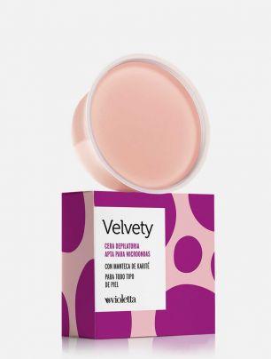 Cera depilatoria con manteca de Karité Velvety