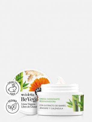 Crema Hidratante Regeneradora Be Vegan