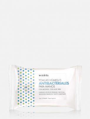 Toallas antibacteriales para manos