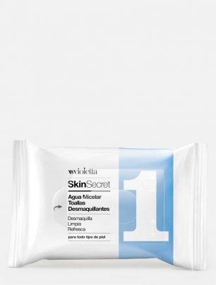 Toallas Desmaquillantes con Agua Micelar Skin Secret