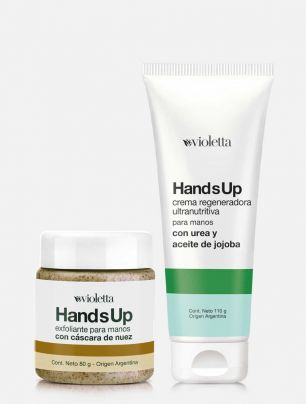 Combo Crema + Exfoliante de manos Hands Up