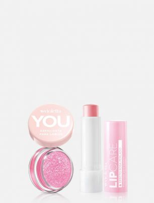 Set Exfoliante para Labios You + Bálsamo Perlado